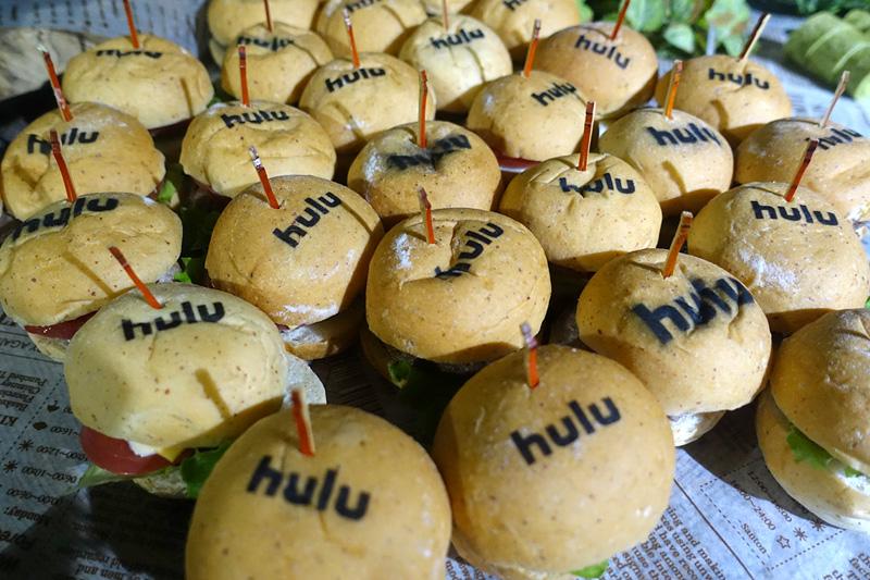 Huluのミニハンバーガー