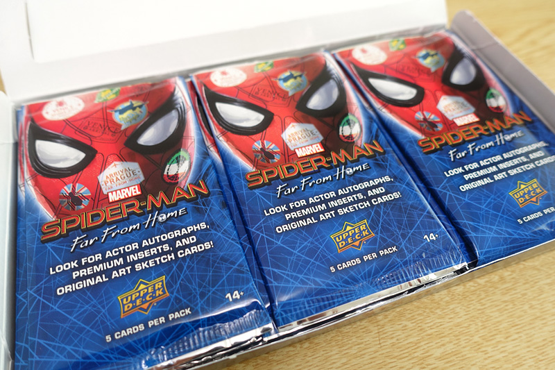 2019 Upper Deck Spider-Man Far from Home